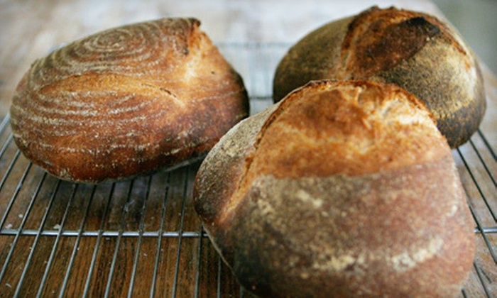 Sour Flour - West Town: Bread-Making Workshop for One or Two from Sour Flour (Up to 56% Off)