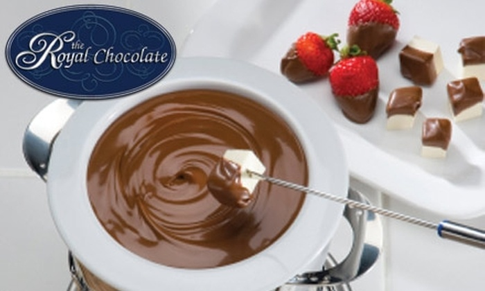 The Royal Chocolate - Northwest Virginia Beach: $15 for a Fondue-for-Two Package from The Royal Chocolate