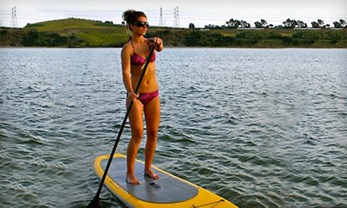 Ocean Experience Surf School - Ocean Beach: $29 for a Two-Hour Standup Paddleboarding Clinic from Ocean Experience Surf School ($70 Value)