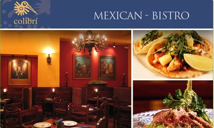 Colibri Mexican Bistro - Downtown: $10 for $25 Worth of Mexican Food at Colibrí