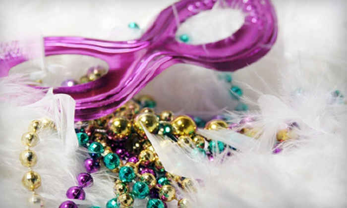 Mardi Gras Memphis 2012 - Downtown Medical Center: Mardi Gras Memphis 2012 Black-Tie Masquerade Benefit for Two or 10 on February 18 at 7 p.m. at Mud Island River Terrace (Up to 57% off)