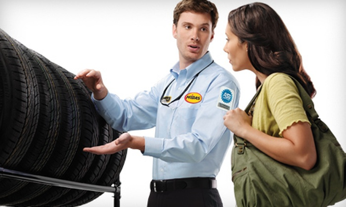 Midas  - Multiple Locations: $29 for an Oil-Change Package with Tire Rotation, Wipers, and Safety Inspection at Midas ($74.90 Value)