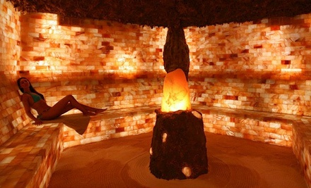 One Therapeutic Salt Cave Session (a $35 value) - Saltcave Solana in Oakville