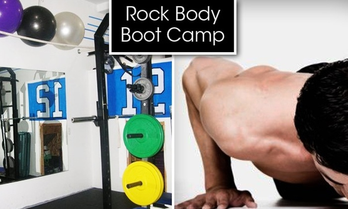 Rock Body Boot Camp - Greenwood: $50 for One Month of Boot Camp Training at Rock Body Boot Camp
