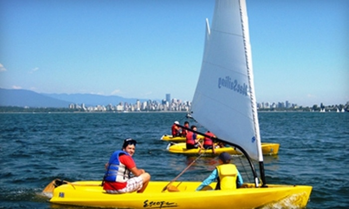 MacSailing - West Point Grey: $30 for Two-Hour Introduction to Sailing Class at MacSailing ($60 Value)