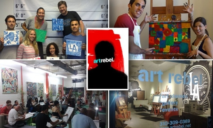 Art Rebel - Sherman Oaks: $35 for a One-Hour Art Class of Your Choice at Art Rebel