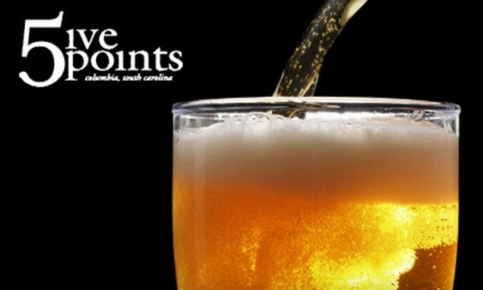 Five Points - Central Rosewood: $5 Ticket to Festivus Bar Crawl in Five Points (Up to $15 Value)