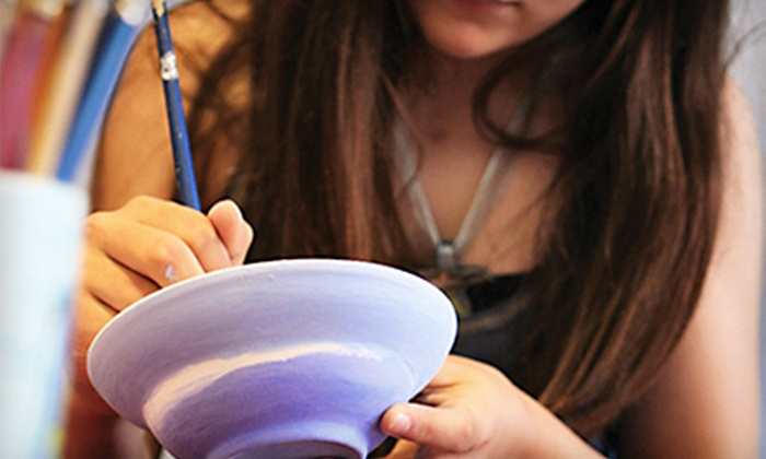 Art Thyme - Kendall: $15 for $30 Worth of Paint-Your-Own Ceramics at Art Thyme