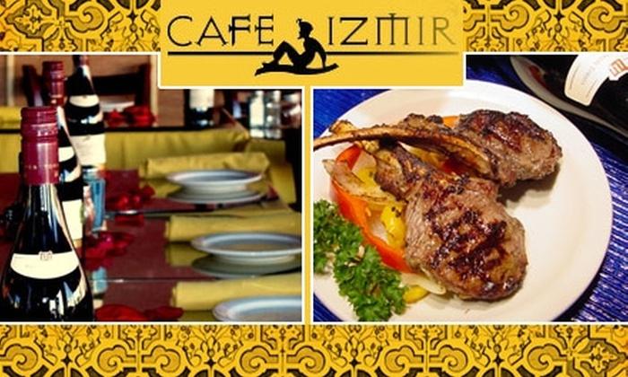 Café Izmir - Lower Greenville: $40 Worth of Mediterranean Fare at Café Izmir