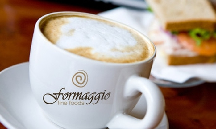 Formaggio Fine Foods - Highway 11: $10 for $25 Worth of Gourmet Grocery, Coffee, and Deli Items at Formaggio Fine Foods