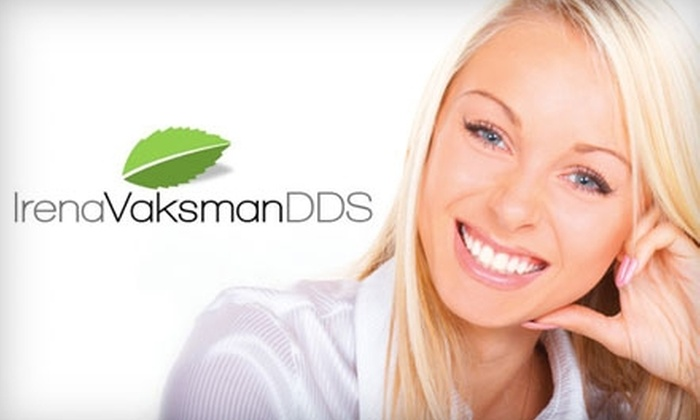 Irena Vaksman, DDS - Downtown: $59 for a Teeth Cleaning, Exam, and X-Rays from Irena Vaksman, DDS ($377 Value)
