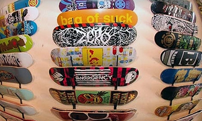 Push Skateshop - Downtown Ashville: $20 for $40 Worth of Skate Gear, Clothing, and Accessories at Push Skateshop
