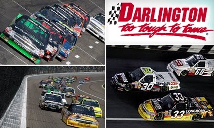 """Darlington Raceway - Darlington: $20 for General Admission and a Pit Pass to the """"Too Tough to Tame 200"""" Race on Saturday, August 14 ($40 Value)"""