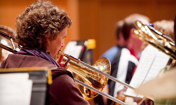 """Calgary Concert Band's """"Majestic Works for Winds"""" - Northwest Calgary: $7 for One Ticket to See Calgary Concert Band's """"Majestic Works for Winds"""" at Rozsa Centre on March 18 (Up to $15 Value)"""