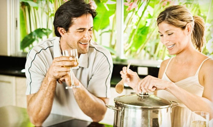 Appetite For Seduction - Bowery: $99 for a Sensual Italian or French Cooking Class for Two at Appetite For Seduction ($240 Value)