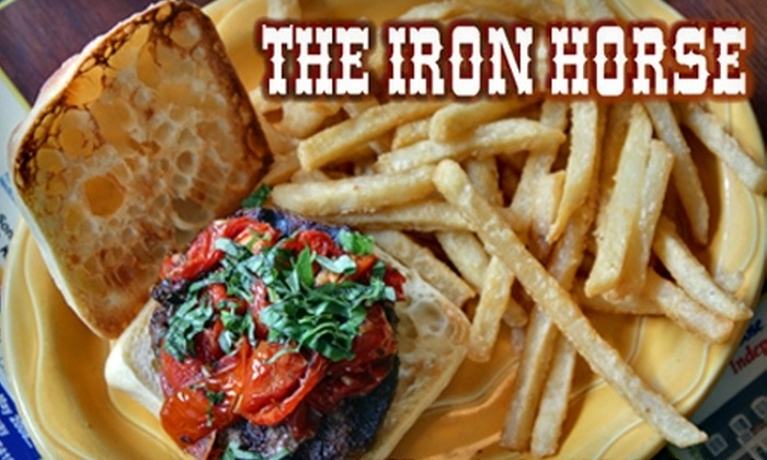 The Iron Horse - Westwood: $10 for $20 Worth of Burgers, Beer, and More at The Iron Horse