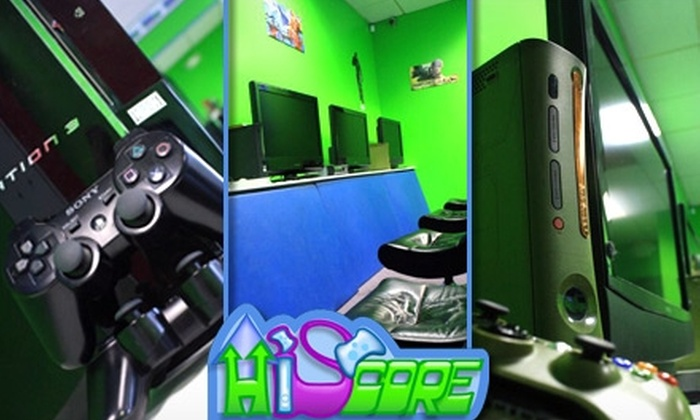 Hi Score - Greenbrier West: $10 for a Five-Hour Gaming Punch Card at Hi Score ($20 Value)