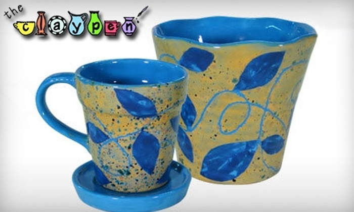 The Claypen - Hartford: $15 for $30 Worth of Paint-Your-Own-Pottery at The Claypen in West Hartford
