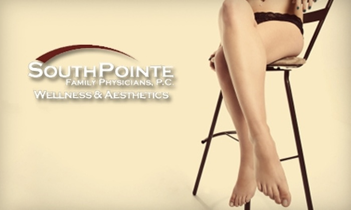 SouthPointe Family Physicians Wellness & Aesthetics - Lincoln: $99 for Two Intensive 30-Minute Spider Vein Treatments at SouthPointe Family Physicians Wellness & Aesthetics
