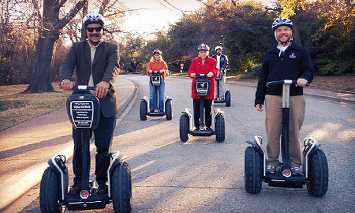 Segway Experience Center Fort Worth - West 7th & Trinity Trails Tour: Botanic Garden Segway Tour for One, Two, or Four from Segway Experience Center Fort Worth (Up to 56% Off)