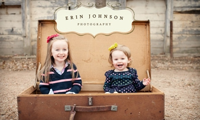 Erin Johnson Photography - Minneapolis / St Paul: $100 for Photography Session and 8x10 Print from Erin Johnson Photography ($300 Value)
