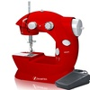 Compact Sewing Machine with Foot Pedal