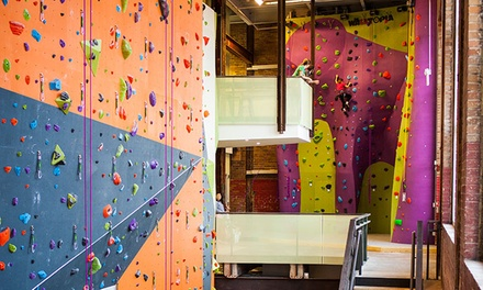 10-Visit Pass or Week-Long Kids' Indoor Rock Climbing Camp with 10-Visit Pass at Climb So iLL (Up to 54% Off)