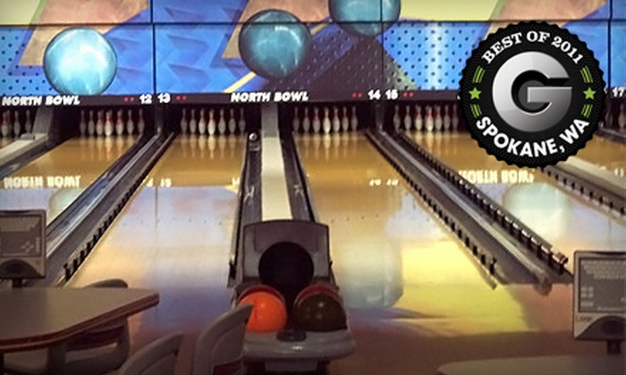North Bowl - Emerson Garfield: $7 for Two Games of Bowling, Shoe Rental, and One Drink at North Bowl (Up to $17.25 Value)
