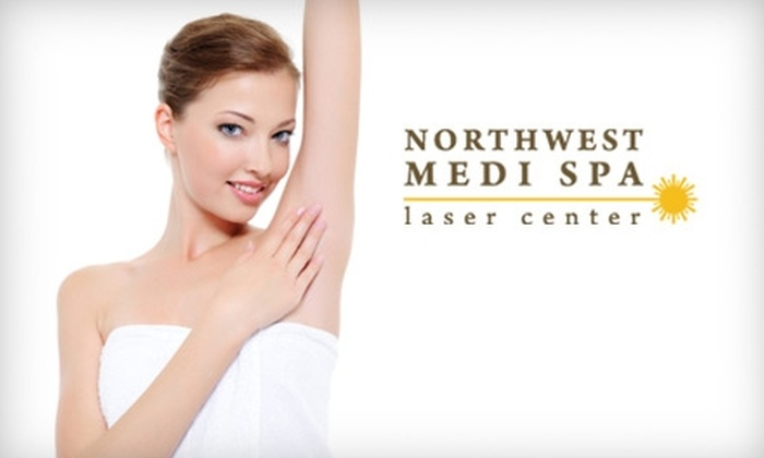 Northwest Medi Spa - Multiple Locations: $129 for Six Sessions of Laser Hair Removal at Northwest Medi Spa (Up to $900 Value)