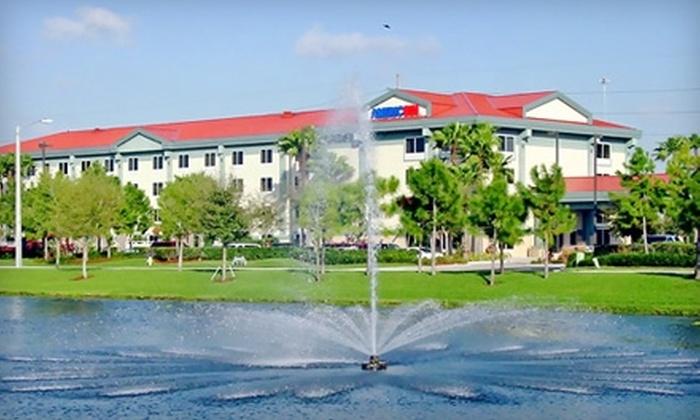AmericInn Hotel & Suites Sarasota - Sarasota: One-Night Stay at AmericInn Hotel & Suites Sarasota. Two Options Available.
