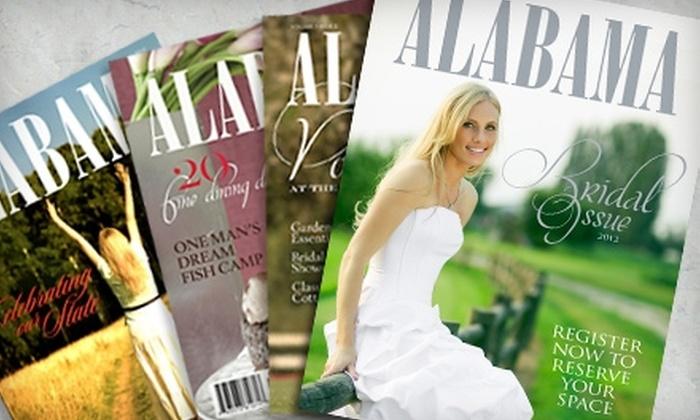 """Alabama Magazine - Birmingham: Wedding-Day Profile in """"Alabama Magazine"""""""