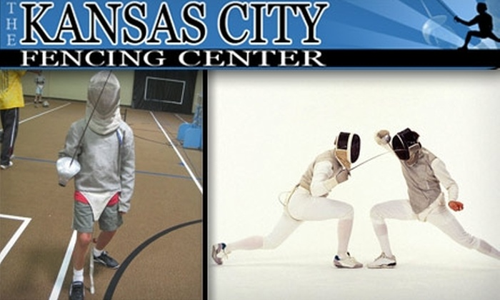 Kansas City Fencing Center - Pinehurst Estates: $25 for Introductory Fencing Classes at Kansas City Fencing Center ($75 Value)