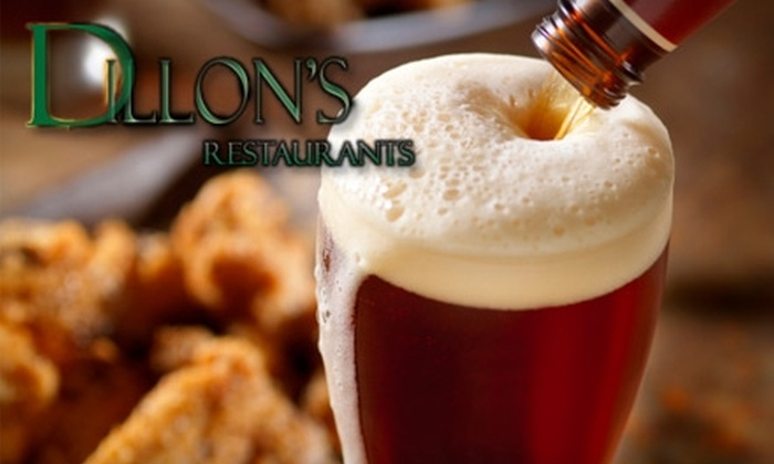 Dillon's Restaurant - Multiple Locations: $15 for $35 Worth of Barbecue and Drinks at Dillon's Restaurant
