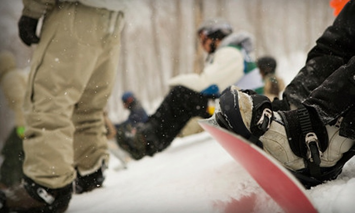 Red Belly - North Side: Two, Four, or Six Snowboard or Ski Tune-Ups at Red Belly (Up to 61% Off)