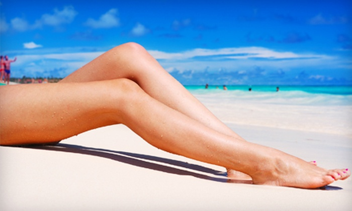 Alite Laser Hair Removal & Skin Rejuvenation - Multiple Locations: Waxing or Laser Hair Removal at Alite Laser Hair Removal & Skin Rejuvenation. Two Options Available.