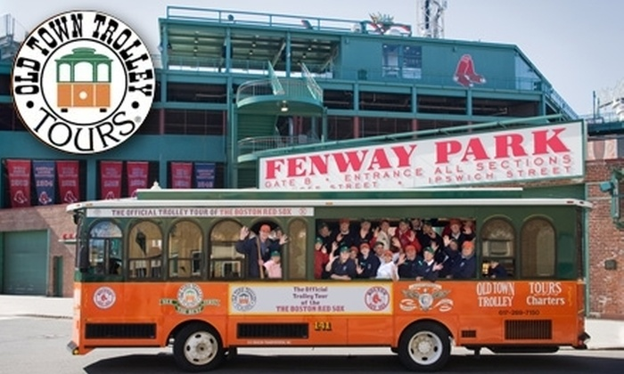 Old Town Trolley Tours - Fenway/Kenmore: $20 for an 18-Stop Trolley Tour from Old Town Trolley Tours (Up to $38 Value)