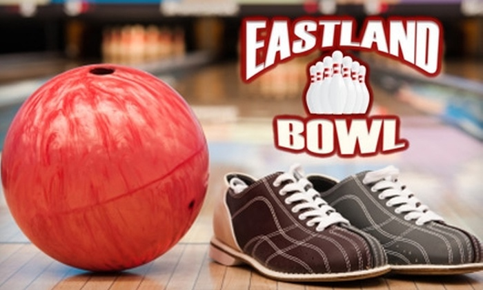 Eastland Bowl - Erie: $6 for Three Games of Bowling and Shoe Rental at Eastland Bowl