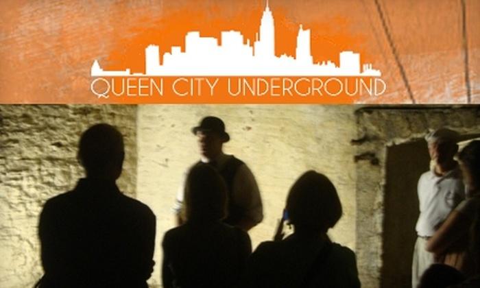 Queen City Underground Tour - Over-The Rhine: $7 Admission to the Queen City Underground Tour ($15 Value)