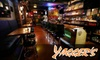 Yagger's Downtown Restaurant & Sports Bar - Downtown Vancouver: $12 for $25 of Eclectic Pub Fare and Drinks at Yagger's Downtown Restaurant & Sports Bar