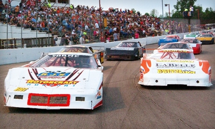 Dixie Motor Speedway - Redeemer: $20 for One General-Admission Ticket to Four Races in May at Dixie Motor Speedway in Birch Run ($51 Value)