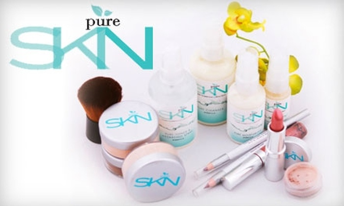 Pure SKN: $30 for $60 Worth of Organic Skin-Care Products and Cosmetics from Pure SKN