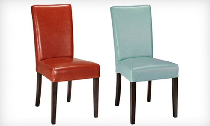 Home Decorators Collection: $99 for a Carmel Dining Chair in Blue or Red. Shipping Included ($159 Total Value).