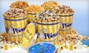 POPtions Popcorn - Ladue: Gourmet Popcorn Bags or Tins at Poptions Popcorn (Half Off)