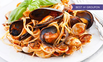 Three-Course Prix Fixe Italian Dinner for Two or Four at La Casa Pasta (Up to 47% Off). Four Options Available.
