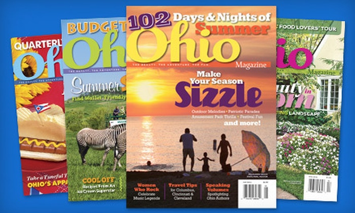 """Ohio Magazine"" - Cincinnati: Two- or Three-Year Subscription to ""Ohio Magazine"" (Half Off)"