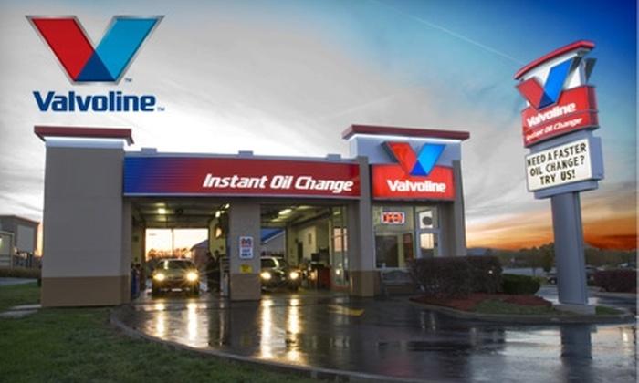 Drive Thru Oil Change Near Me >> 51 Off Oil Change Valvoline Instant Oil Change Groupon