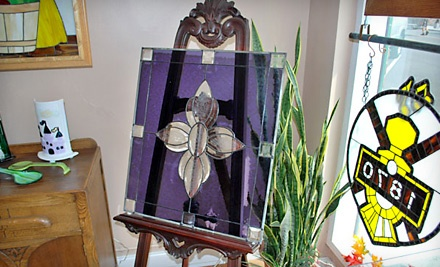 $55 Groupon to Fusion Stained Glass Studio - Fusion Stained Glass Studio in Springfield
