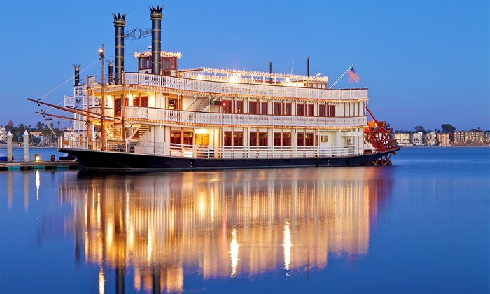 The William D. Evans - Bahia Resort Hotel: Holiday Party Cruise for One, Two, or Four on Friday, December 5 on The William D. Evans (Up to 51% Off)