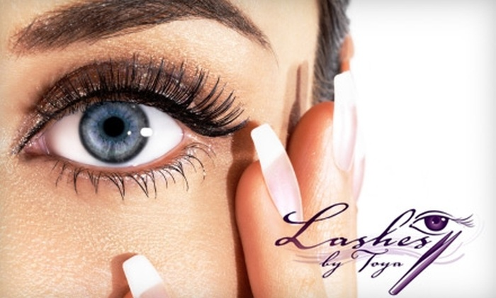 Lashes by Toya - Virginia Beach: $88 for a Set of Baby Eyes Eyelash Extensions from Lashes by Toya ($250 Value)