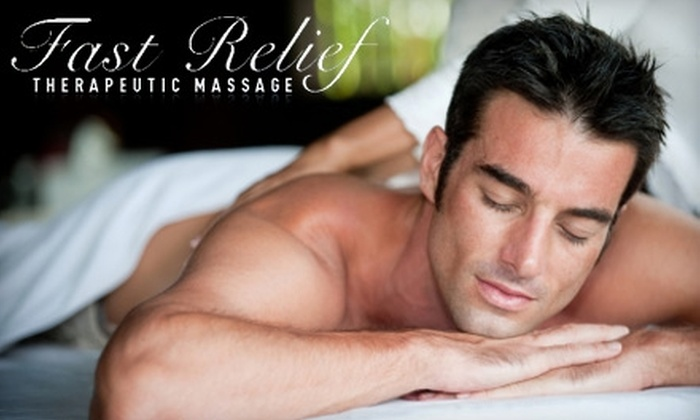 Fast Relief Therapeutic Massage - Multiple Locations: $32 for a One-Hour Massage at Fast Relief Therapeutic Massage ($65 Value)